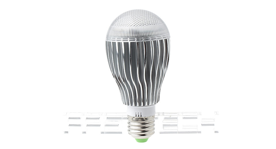 E27 10W RGB Multicolored Light Lamp Bulb w/ Remote Control