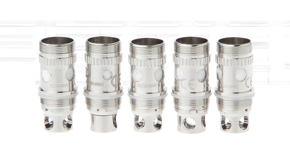 Image of Replacement Coil Head for Atlantis Mega / Atlantis V2 Clearomizer (5-Pack)
