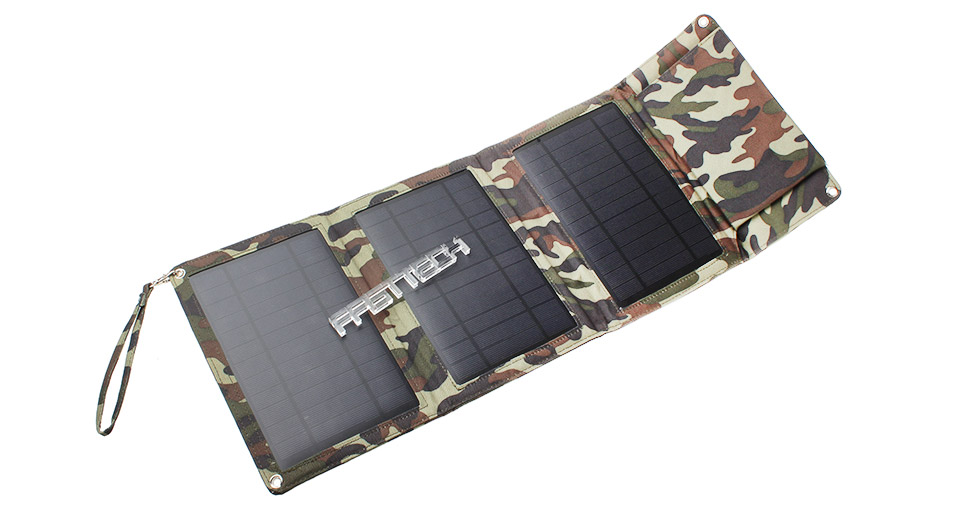 Image of 12W Folded Solar Power Panels Mobile Phone Charger (3pcs)