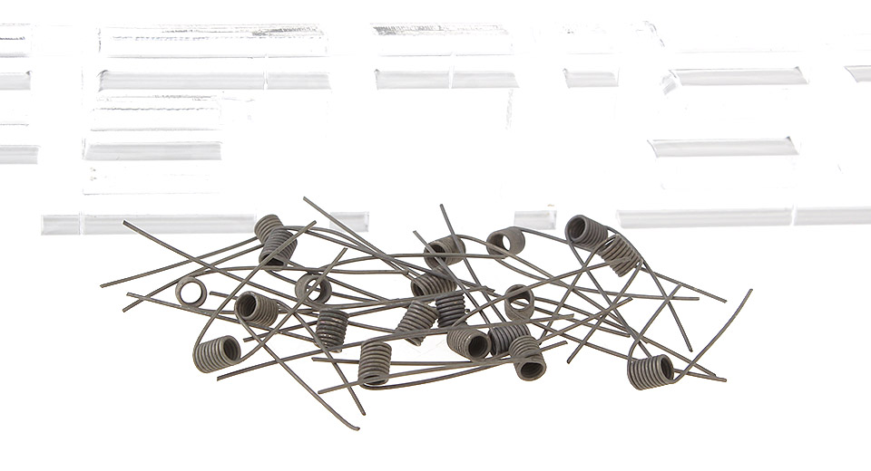 Image of ASSA Insulated Pre-Coiled Nichrome Wires for Rebuildable Atomizers (20-Pack)