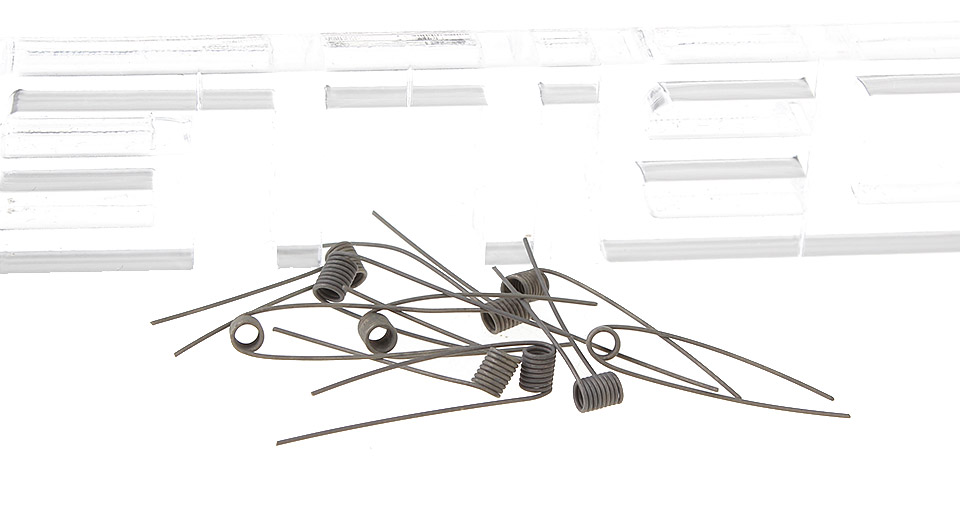 Image of ASSA Insulated Pre-Coiled Nichrome Wires for Rebuildable Atomizers (10-Pack)