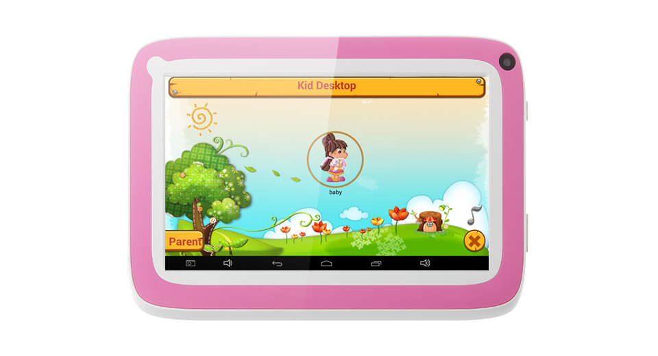 HSD-7029 (R70FC) 7'' TFT Single-Core 1.0GHz Android 4.4.2 KitKat Kids Tablet PC