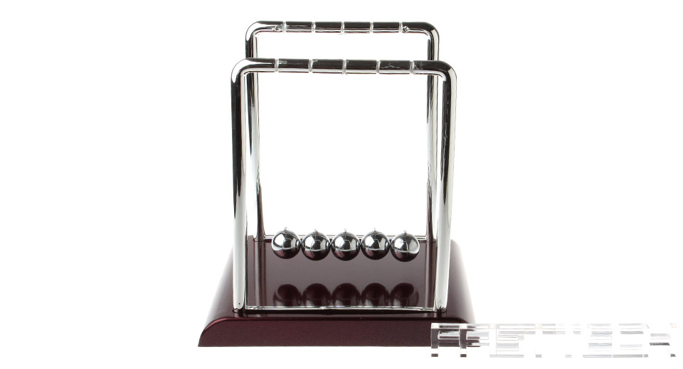 Newton's Cradle Balance Balls Science Pendulum Desktop Toy (Size L)