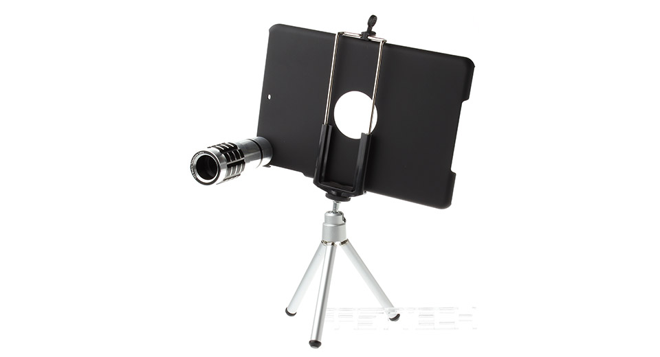Image of 12X Telescope + Tripod + Back Case for iPad Mini