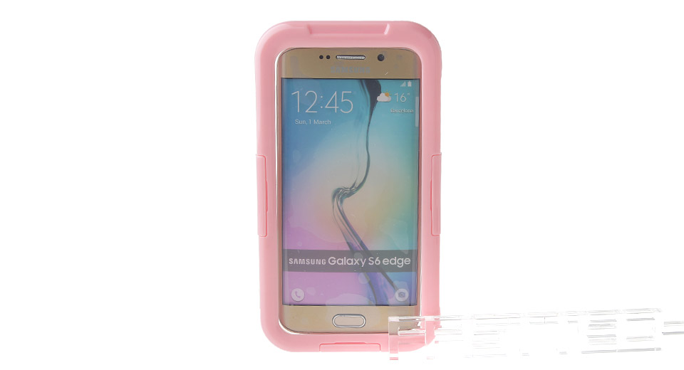 Image of Protective Waterproof Bag Case for Samsung Galaxy S6 Edge / S6