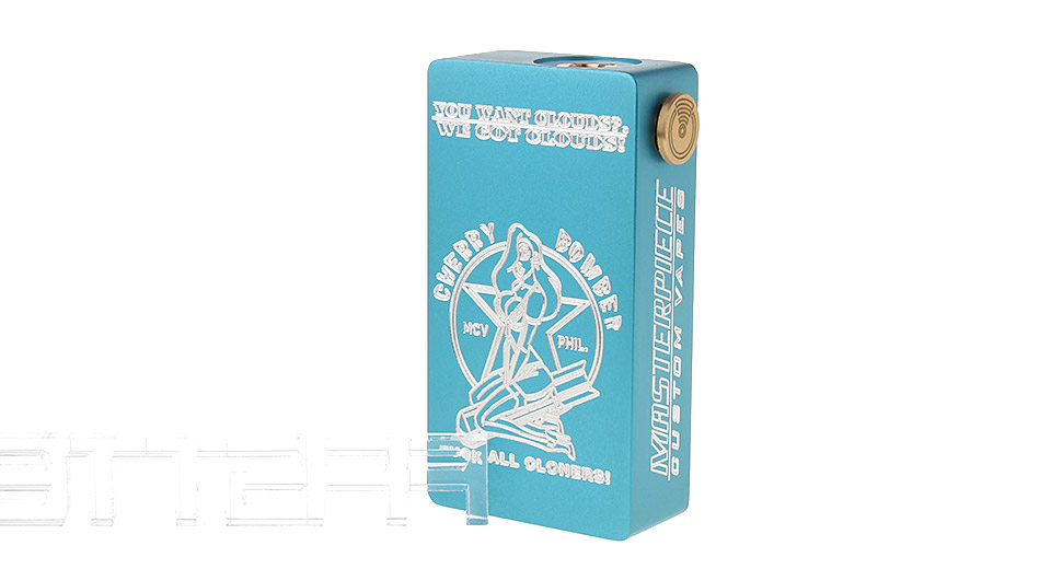 Cherry Bomber Styled Mechanical Box Mod