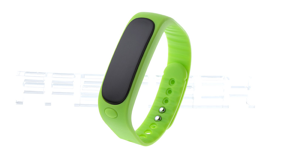 "Image of E02 0.84"" OLED Bluetooth V4.0 Smart Wristband Bracelet"
