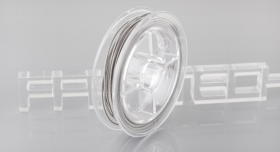 Image of Coiled Nichrome Heating Wire for RBA RDA RTA Rebuildable Atomizers