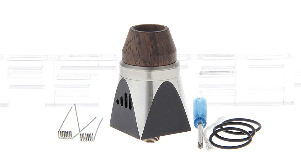 Bullet RDA2 Styled Rebuildable Dripping Atomizer Bullet RDA2, SS, Black