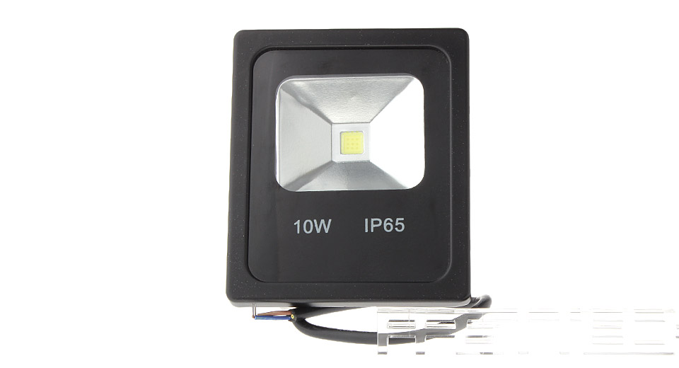 10W 900LM 6000-6500K Pure White Outdoor COB LED Floodlight