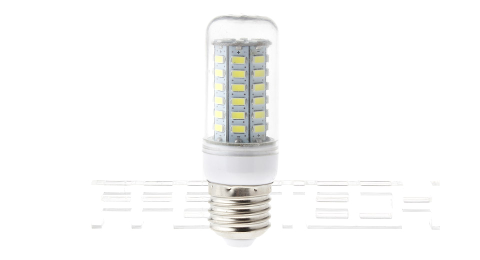 E27 6W 56*5730 950LM 6000-6500K Pure White LED Corn Light Bulb 6W, 56*5730, 950LM, 6000-6500K