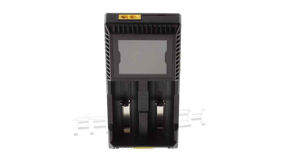 """Image of Authentic NOKOSER HB-D2S 2.3"""" LCD Dual-Slot Multifunctional Battery Charger"""