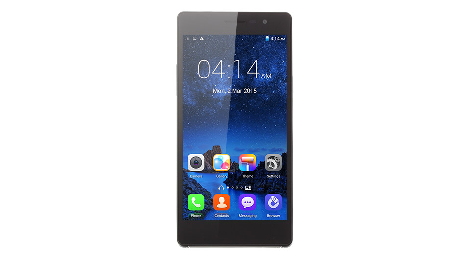 "LEAGOO Elite 2 5.5"" IPS Octa-Core Android 4.4.2 KitKat 3G Smart Phone (16GB)"