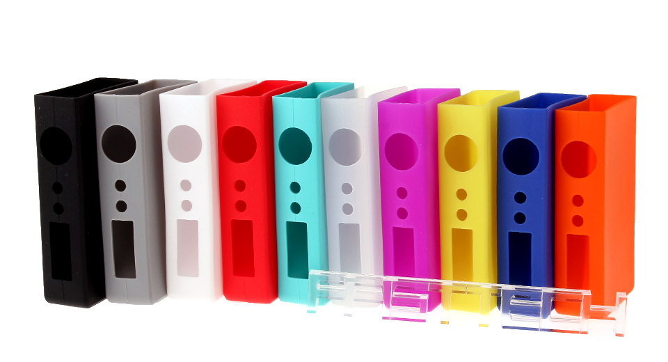 Protective Silicone Sleeve Case Sigelei 100W / Plus V2 150W (10 Pieces) 10 Pieces, Colors