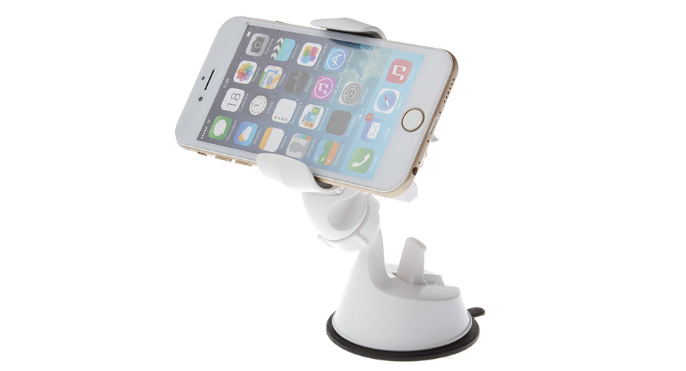 Image of 068 Car Suction Cup Mount Holder Stand for Cellphones