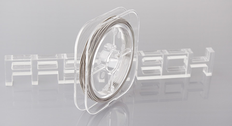 Authentic PilotVape Kanthal A1 Coiled Heating Wire for Rebuildable Atomizers Kanthal A1, coiled, 0.3mm*0.2mm*5m