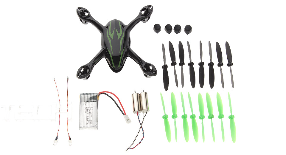 Replacement Accessories Set for Hubsan X4 H107C R/C Quadcopter (26 Pieces)