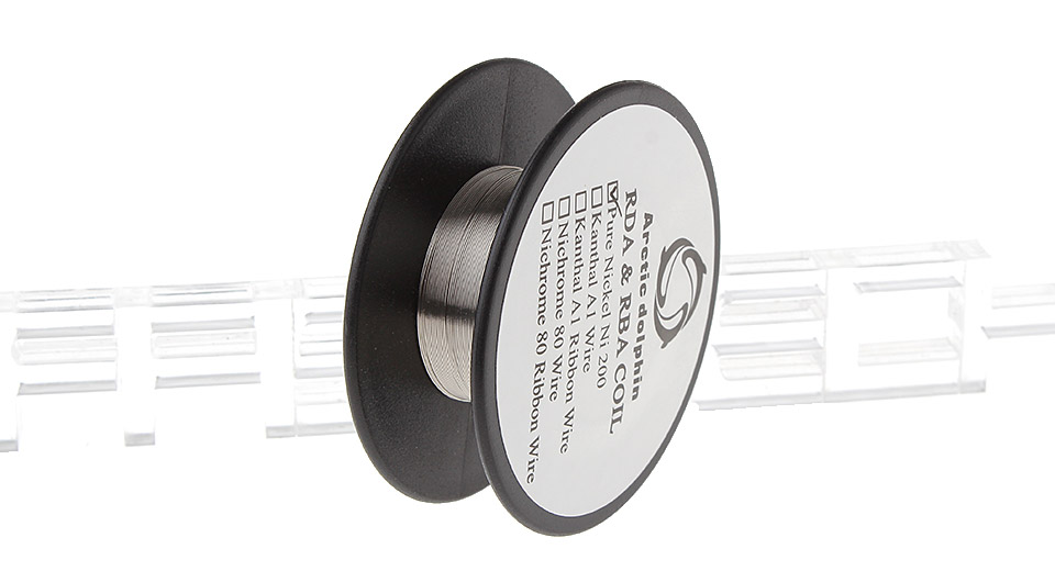 Image of Authentic Arctic Dolphin Ni200 Nickel Heating Wire for Rebuildable Atomizer