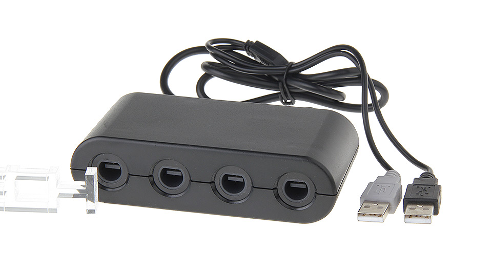 GameCube Controllers Adapter for Wii U & PC