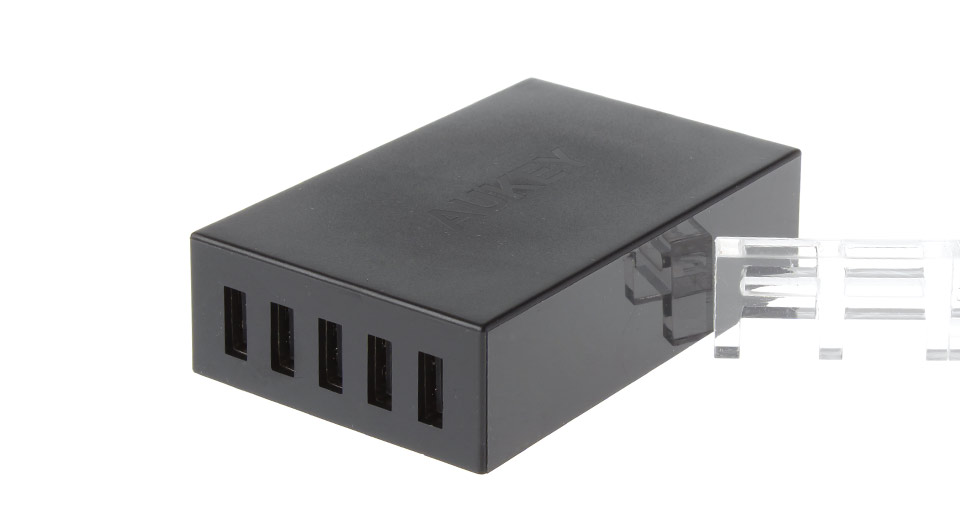 Authentic Aukey PA-U13 5 Ports USB Charging Station