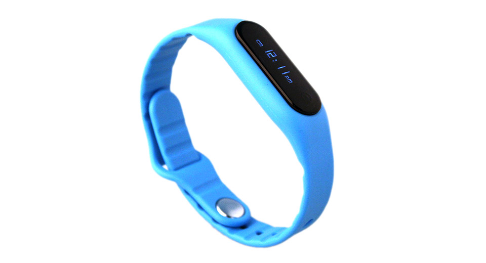 "Image of E06 0.69"" OLED Bluetooth V4.0 Smart Wristband Bracelet"