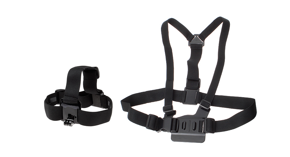 GP59 Chest Mount Harness + Headband for GoPro