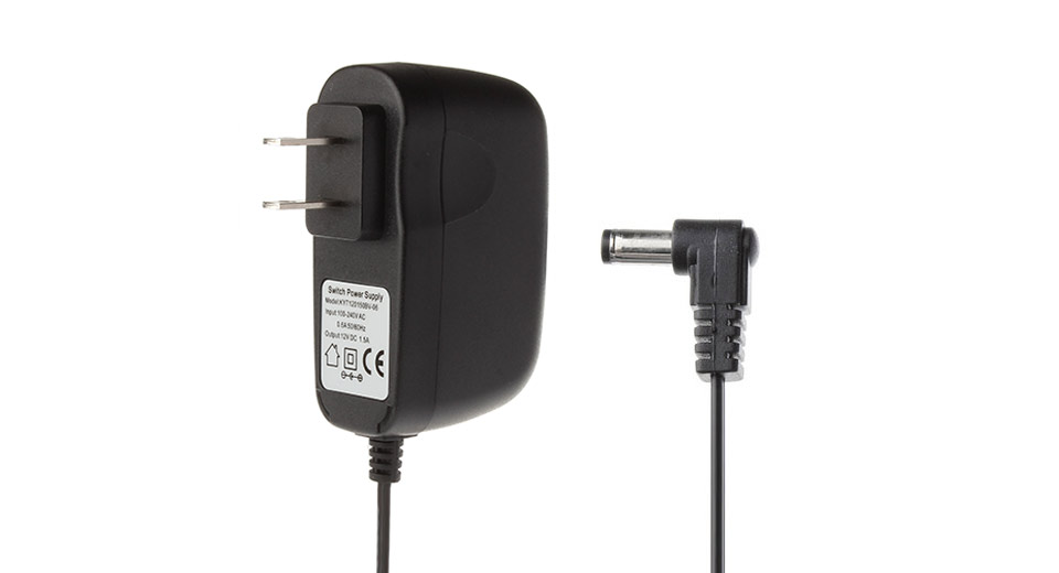 Replacement AC Power Adapter OPUS BT-C900 Battery Charger BT-C900, US Plug, Black