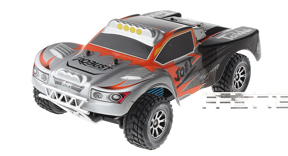 Authentic WLtoys A969 1:18 Scale 4CH 2.4GHz Hi-Speed R/C Off-Road Vehicle