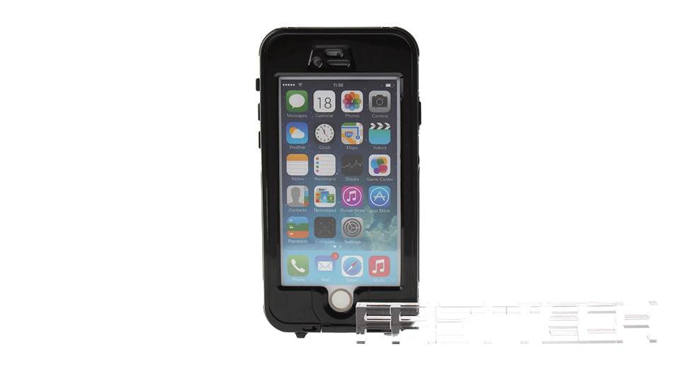3m Waterproof Fulll-Body Case w/ Touch ID Fingerprint Identify for iPhone 6, iPhone 6, w/ Touch ID Fingerprint Identify, Black