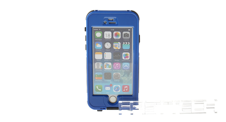 3m Waterproof Fulll-Body Case w/ Touch ID Fingerprint Identify for iPhone 6, iPhone 6, w/ Touch ID Fingerprint Identify, Blue