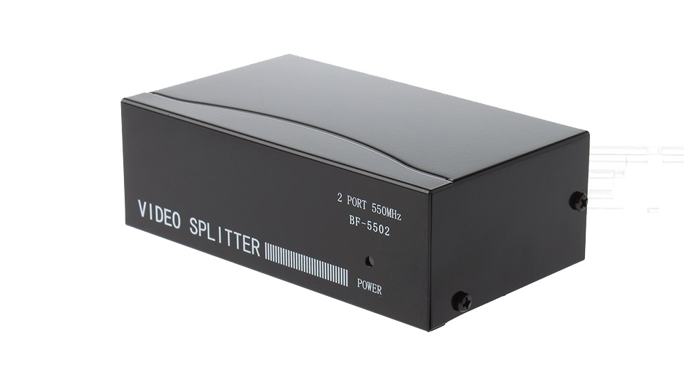 BF-5502 550MHz 1-In 2-Out VGA Video Splitter
