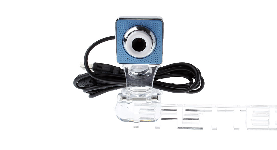 Clip-on 10MP CMOS Webcam w/ Built-in Microphone