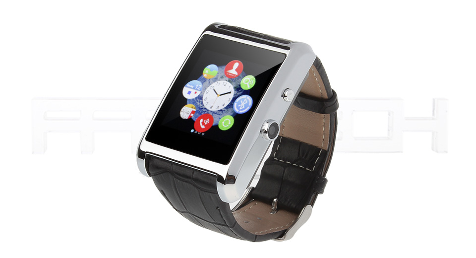 F8 1.54 LCD Touch Screen Bluetooth V3.0 GSM Smart Watch Phone