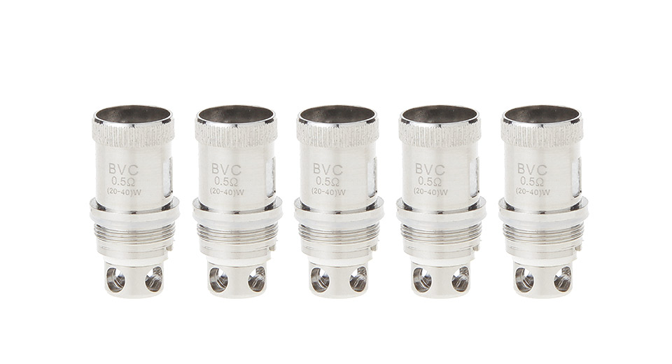Image of Authentic Vortex Clearomizer Replacement BVC Coil Head (5-Pack)