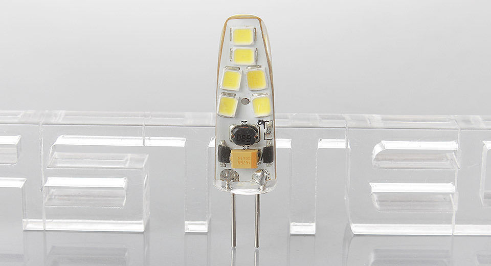 G4 1.5W 12*2835 150LM 6000K Pure White Dimmable LED Light Bulb, 1.5W, 12*2835, 150LM, 6000K, Dimmable