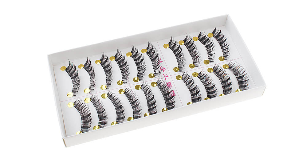 Image of 054 Handcraft Highlighted Thick False Eyelash (10-Pair)