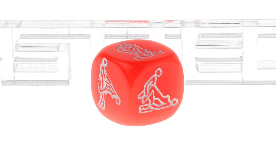 Hexahedron Glow-in-the Dark Erotic Passion Dice