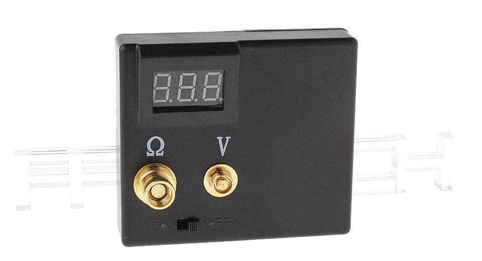2-in-1 Combo Tester (Ohm Meter + Volt Meter) for E-Cigarettes