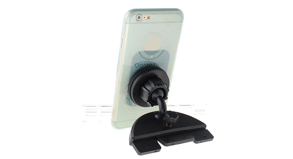 Suction Cup Styled Car CD-Slot Magnetic Holder Stand for Cellphones