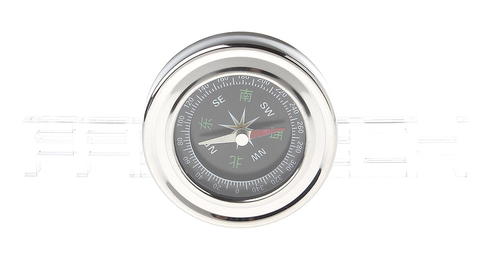Outdoor Camping / Hiking Portable Stainless Steel Compass