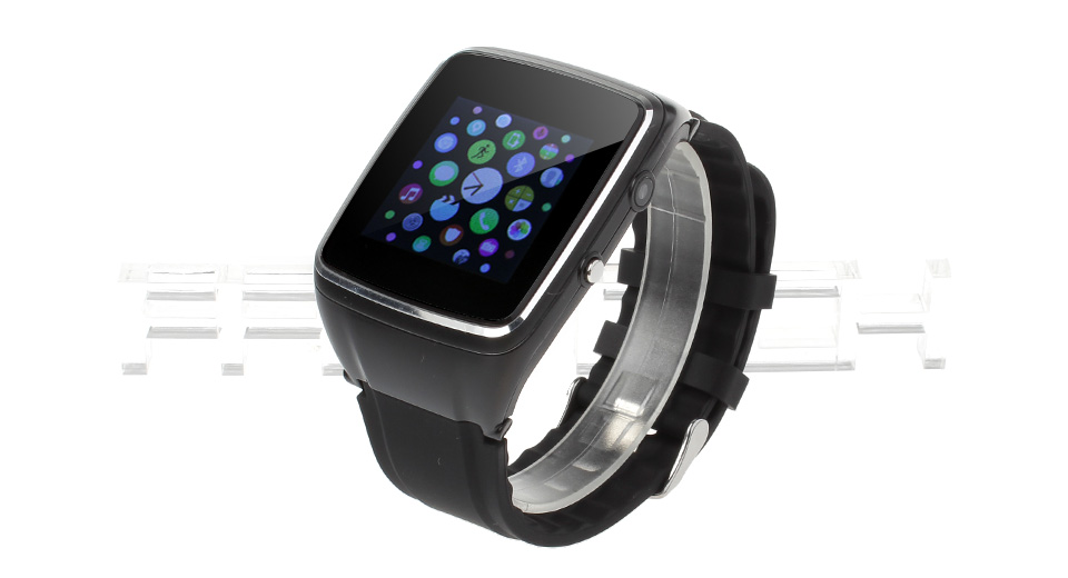 W2015 1.54 Touch Screen GSM Smart Watch Phone w/ Camera