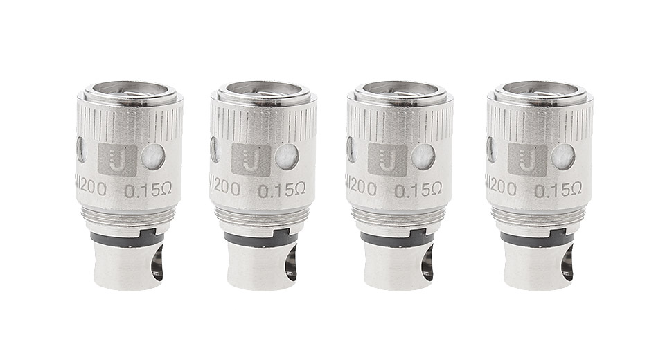 Image of Authentic Uwell Crown Clearomizer Replacement Ni 200 Coil Head (4-Pack)
