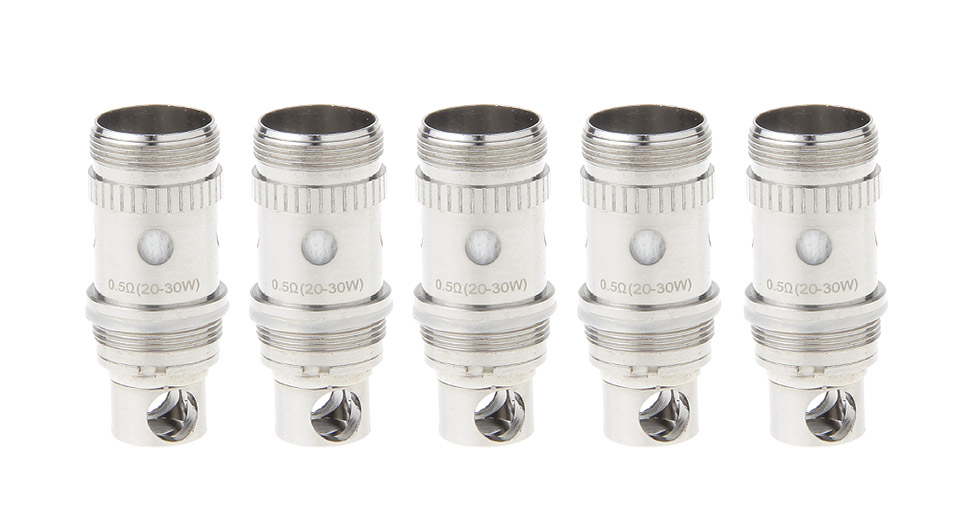 Image of Authentic HCigar Mascot Replacement BVC Coil Head (5-Pack)
