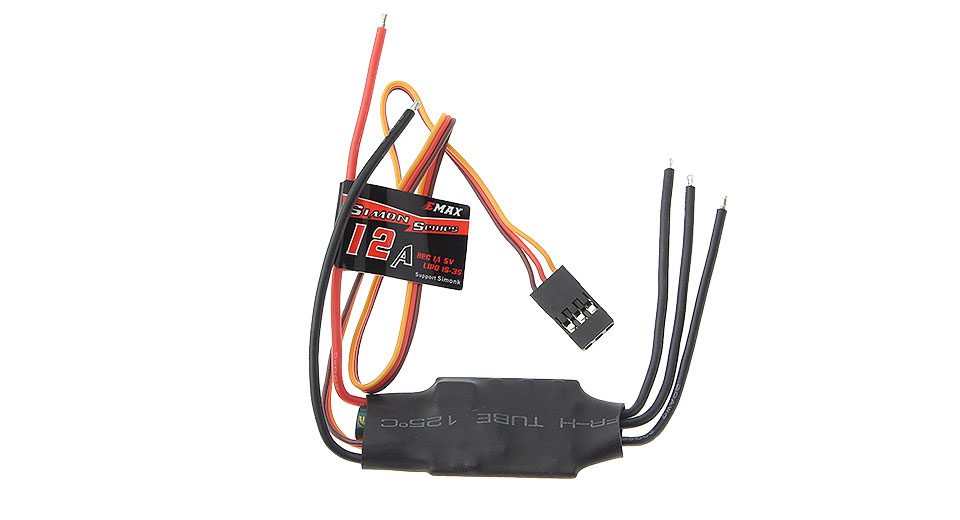 EMAX Simon Series 12A Brushless ESC Electronic Speed Controller