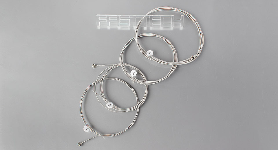 GLEAM GSM-45100 Replacement Electric Bass String Set (4 Pieces)