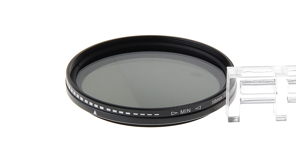 Authentic Commlite C/VN2-400 58mm Lens Filter for Canon / Nikon