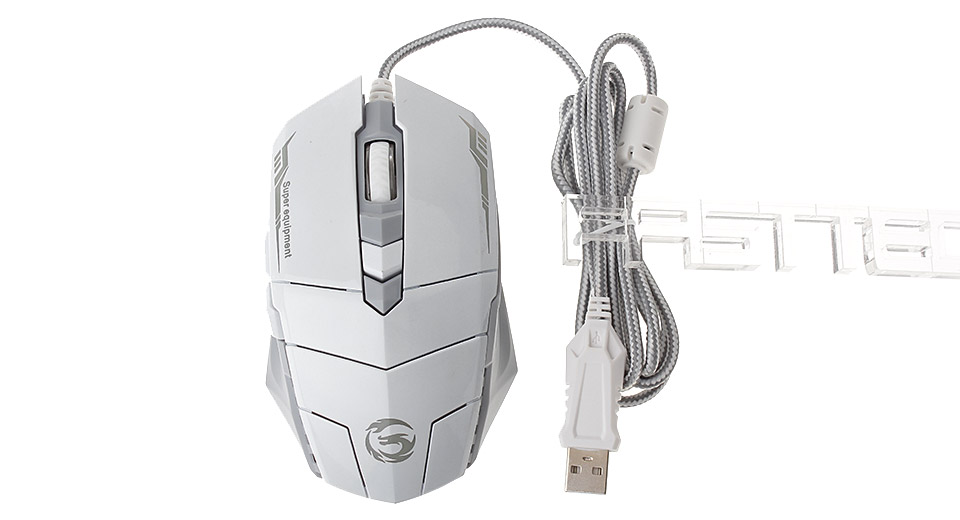Authentic Deiog M2 1200/1600/2400 DPI Adjustable USB Wired Optical Gaming Mouse