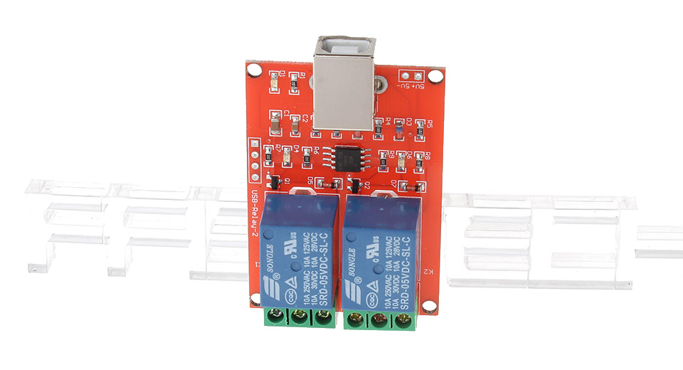 USB Control Switch 2-Channel 5V ...