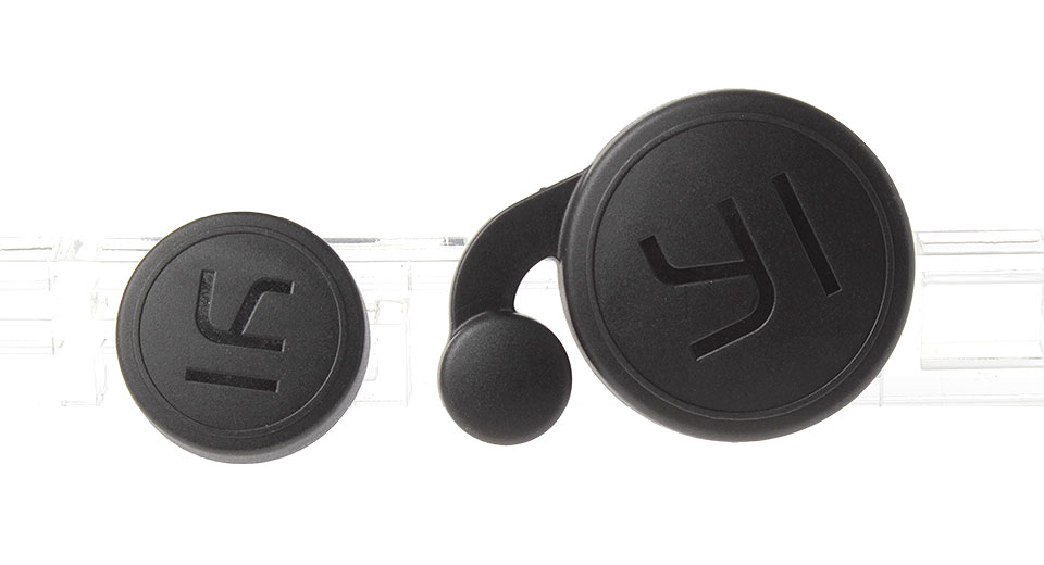 GP-Y55 Waterproof Protective Lens Cover Cap Set for Xiaomi Yi Sports Camera