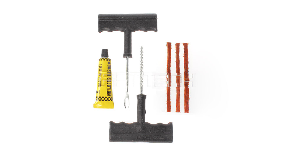 Image of 6-in-1 Tubeless Tire Repair Tool Kit for Vehicles (Small Size)